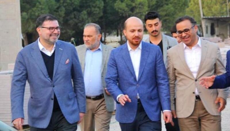 Bilal Erdoğan'dan Bilal Saygılı Camii ve Külliyesi'ne ziyaret