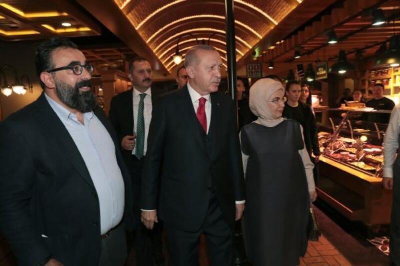 Cumhurbaşkanı Erdoğan Florya'da vatandaşlarla bir araya geldi