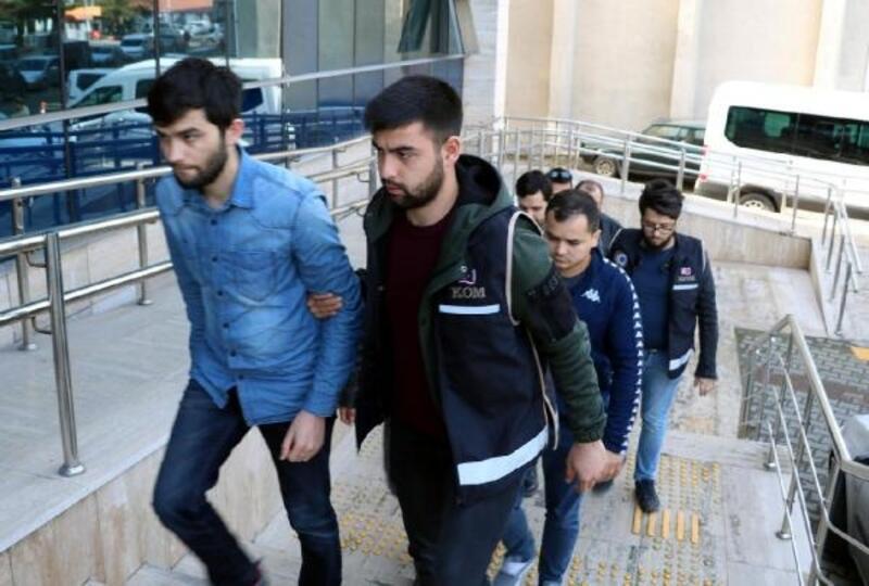 FETÖ operasyonunda gözaltına alınan 5 şüpheli adliyede