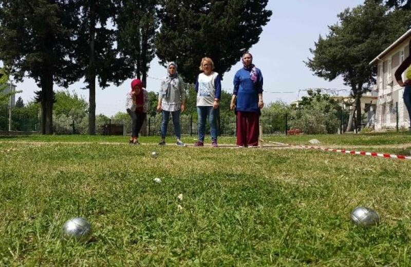 Manavgat'ta bocce turnuvası
