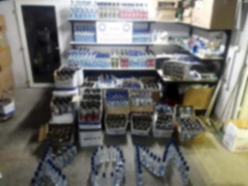 Ankara'dan tatil beldelerine sahte içki götüren kamyonete operasyon: 1 gözaltı