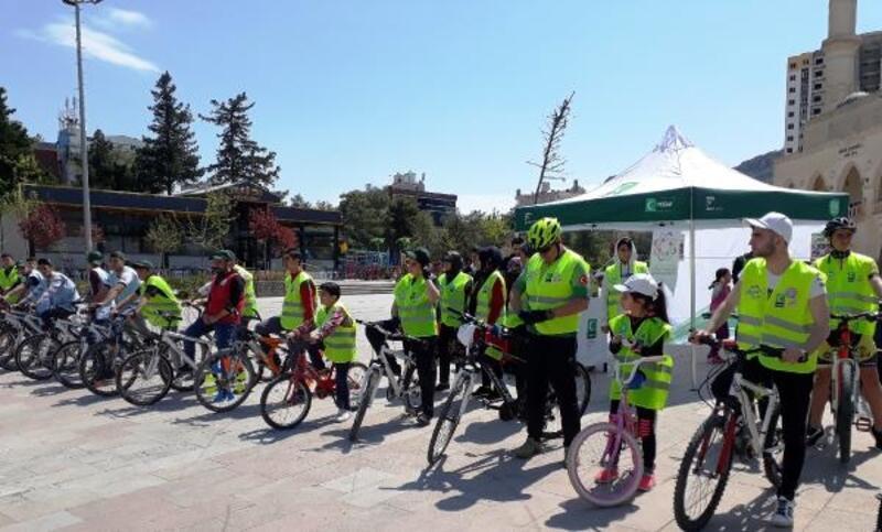 Mardin'de pedallar, sağlıklı yaşam için çevrildi
