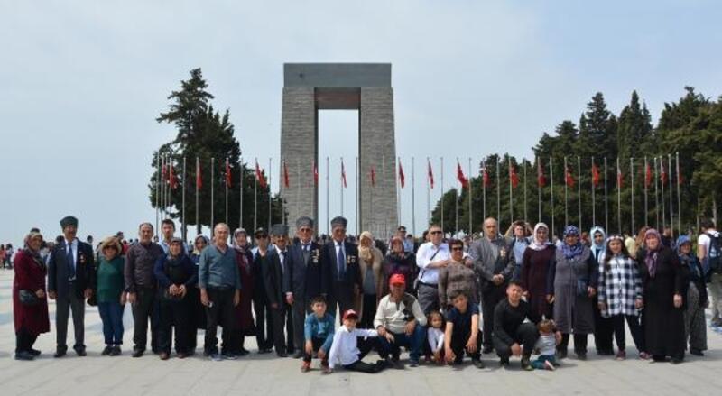 Gaziler Çanakkale ve Bursa'yı gezdi