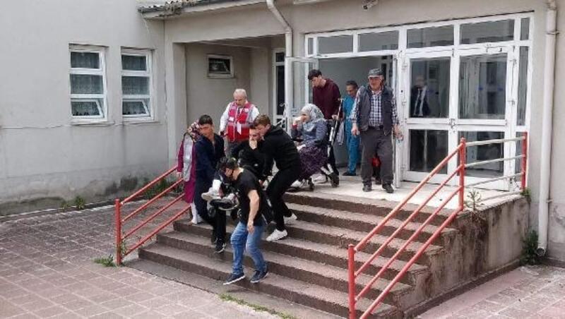 Akçakoca Devlet Hastanesi'nde bomba tatbikatı