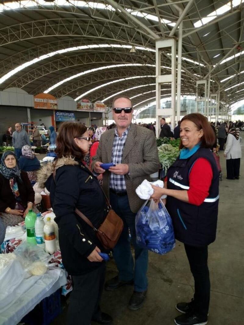 Aydın Büyükşehir'den alışveriş torbası