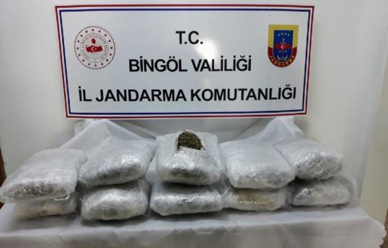 Bingöl'de uyuşturucu operasyonunda 10 tutuklama