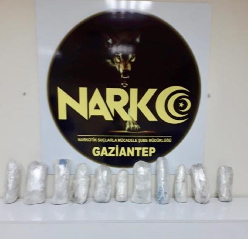 Gaziantep'te 7 kilo esrar ele geçirildi