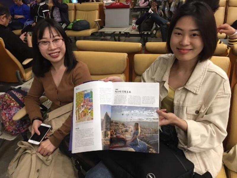 Çinli şirket İstanbul'a tarifeli uçuşlara Türkiye tanıtımı ile başladı