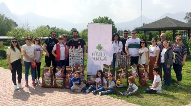 Konyaaltı Belediyesi Barınağına, gönüllü desteği