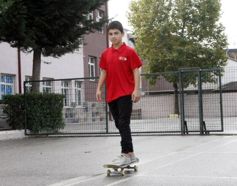 Bursalı genç kaykaycı, Türkiye şampiyonu oldu