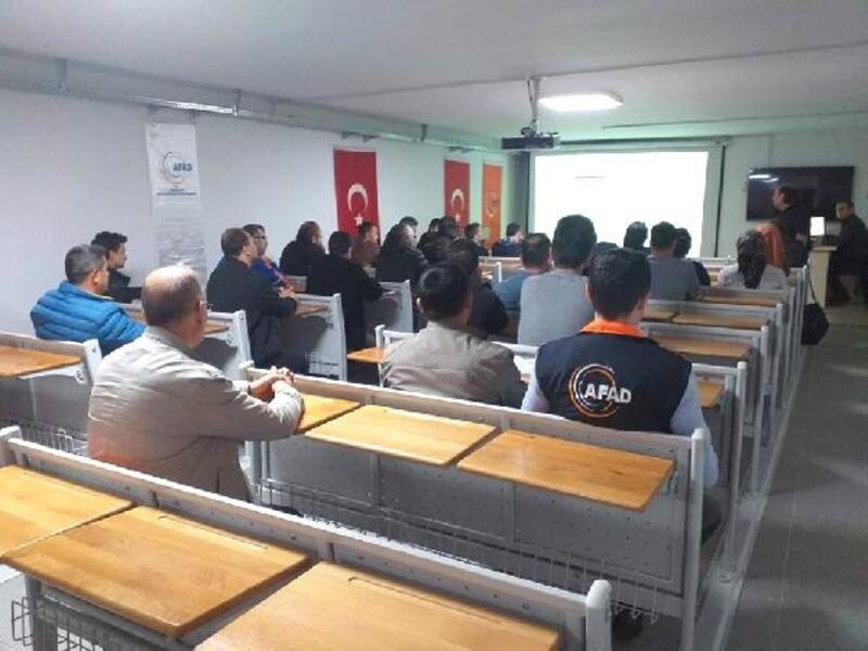 Tokat'ta AFAD ekiplerine nükleer eğitimi