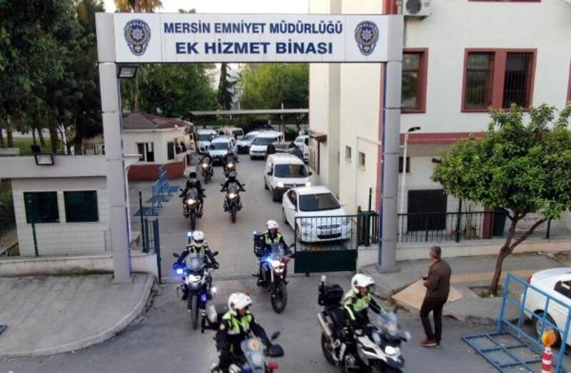 Mersin'deki 'torbacı' operasyonunda 10 tutuklama
