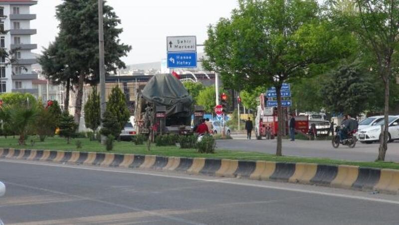 Kilis'teki askeri birlikler sınıra konuşlandı