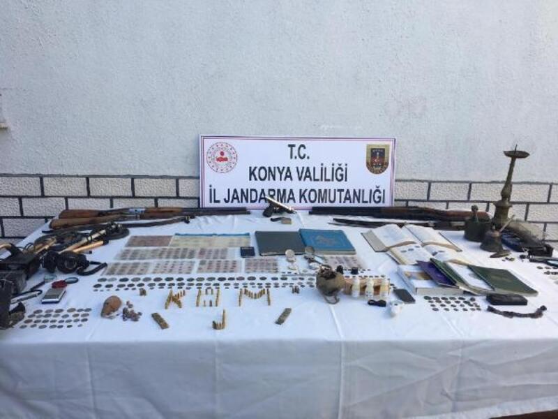 Konya'da tarihi eser kaçakçılarına operasyon: 23 gözaltı