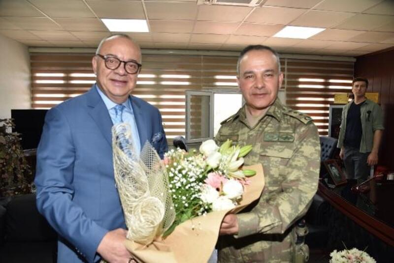 Başkan Ergün'den Albay Dere'ye Ziyaret