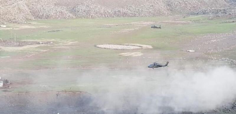 Ağrı Dağı'nda toprağa gömülü PKK erzağı ele geçirildi