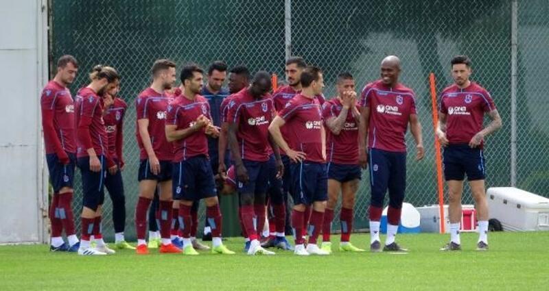 Trabzonspor, Kayserispor maçı hazırlıklarını sürdürdü