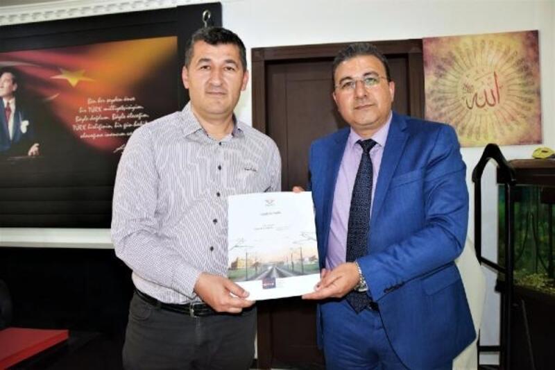 TCDD Bölge Müdüründen Atlı'ya ziyaret