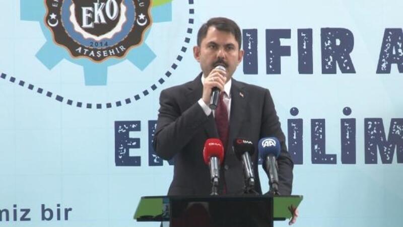 Bakan Kurum: Sıfır atık uygulamasıyla 100 bin kişiye istihdam sağlanmış olacak