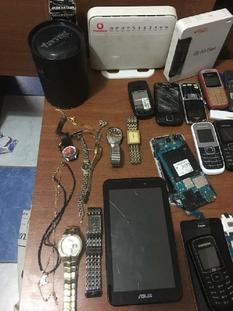 Söke'de evden hırsızlığa 2 tutuklama