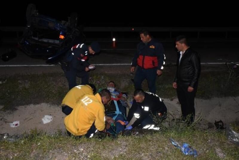 Köpeğe çarpmamak için manevra yaptı: 1 ölü, 4 yaralı