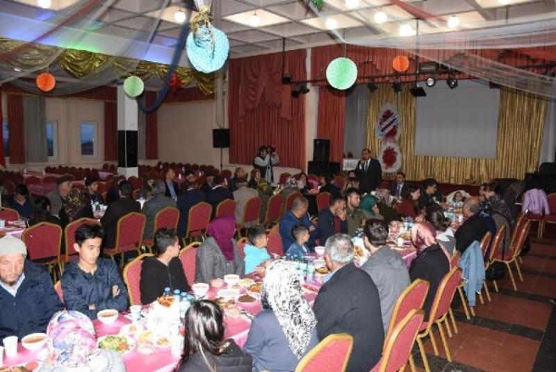 Elmadağ'da şehit aileleri ve gaziler onuruna iftar