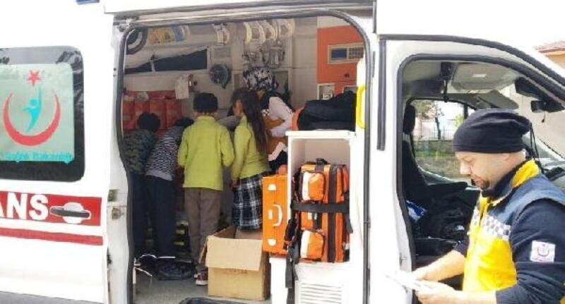 Öğrencilerden 112 Acil Çağrı Merkezi'ne ziyaret