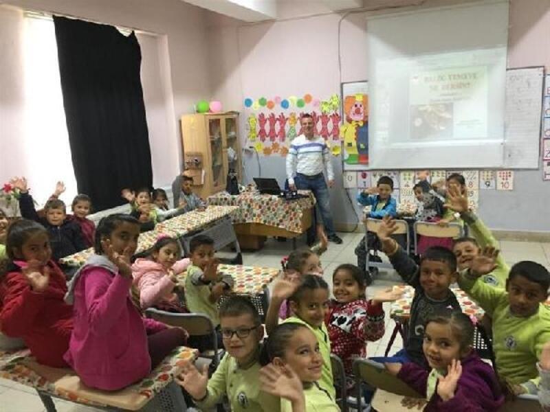 Vize'de okullarda balık tüketiminin insan sağlığına faydaları anlatıldı