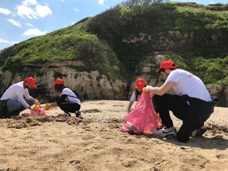 Türk Akım projesi bölgesinde çevre temizliği