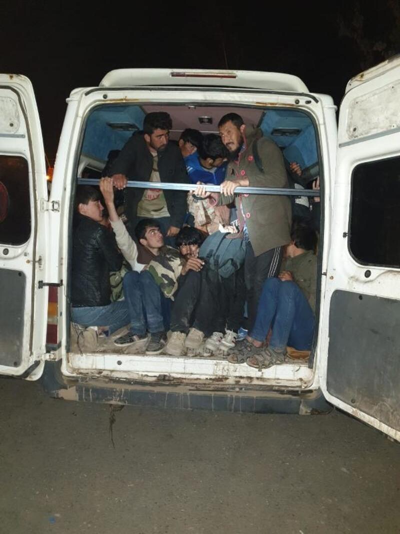 Ağrı'da göçmen kaçakçılığına 33 tutuklama