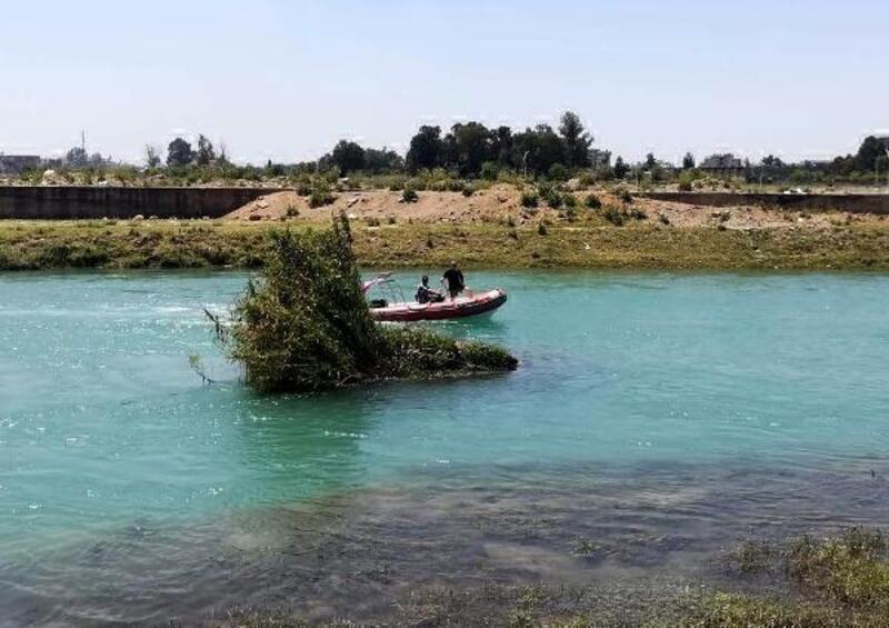 İhbar doğru çıktı, nehirde ceset bulundu