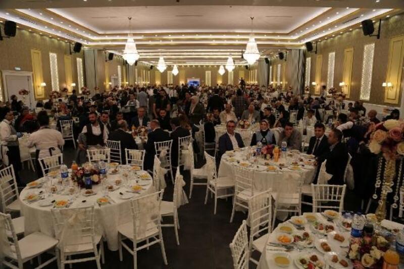 Başakşehir'de engelli vatandaşlar ve aileleri iftar yaptı