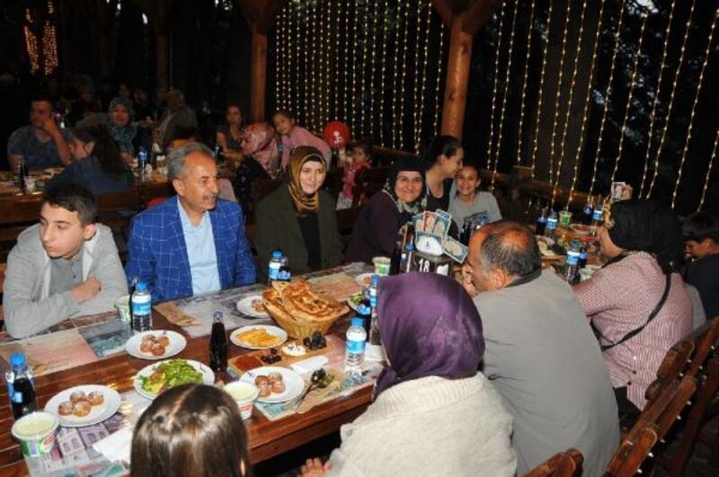 Akşehir Belediyesinden kardeşlik iftarı