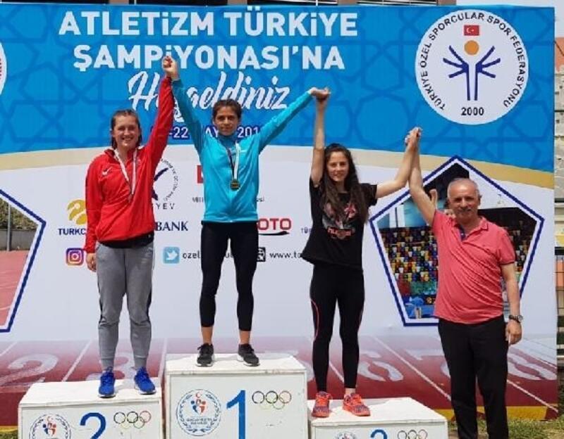 Burhaniyeli özel sporcular Türkiye şampiyonu oldu
