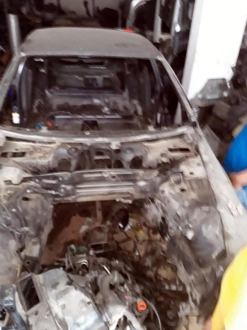 Gebze'den çalınan otomobil, İstanbul'da parçalanmış bulundu