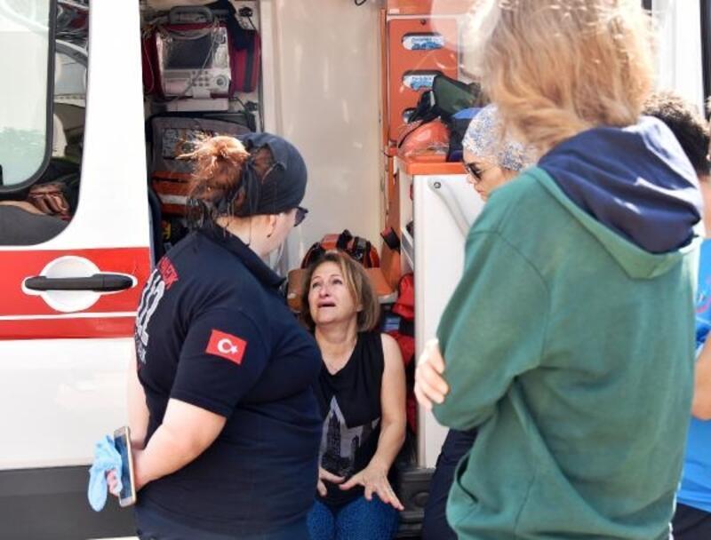 Buzdolabı alev aldı, 12 katlı bina tahliye edildi