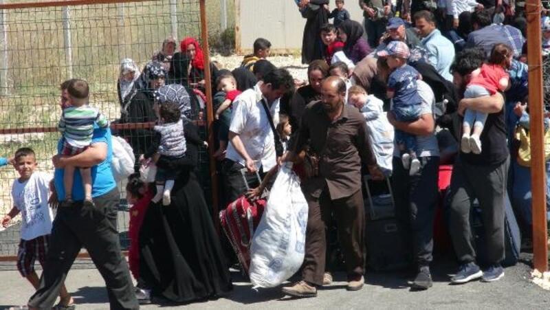 Suriyelilerin bayram yoğunluğu