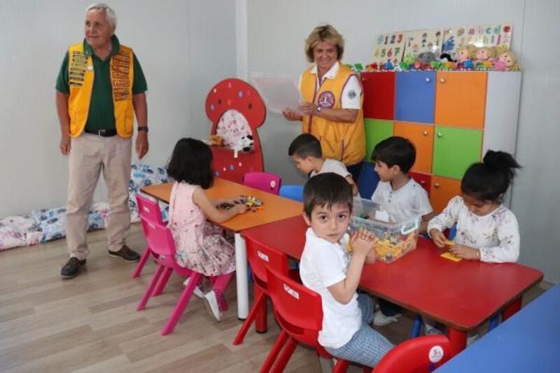 Midyat'ta Suriyeli ve Yezidi çocuklar için anasınıfı açıldı