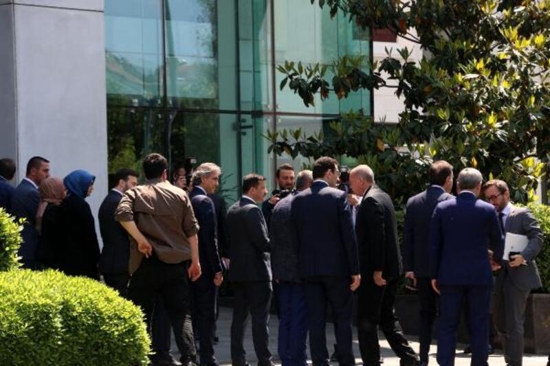 Cumhurbaşkanı Erdoğan  AK Parti İl Başkanlığında