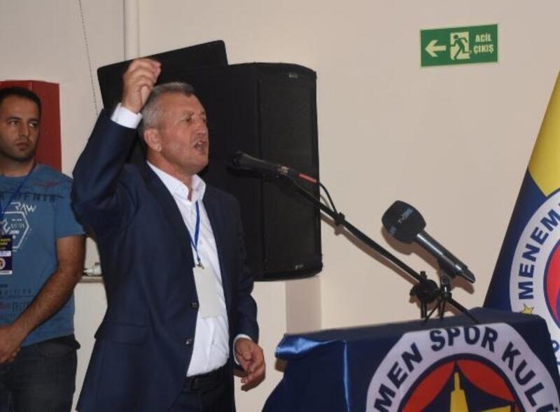 Menemen Belediyespor kongresinde arbede