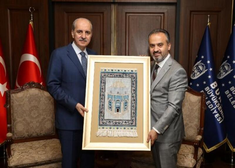 AK Parti Genel Başkanvekili Kurtulmuş Bursa'da