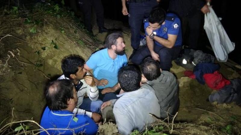 Polis, kaçak kazı yapan 5 kişiyi suçüstü yakaladı