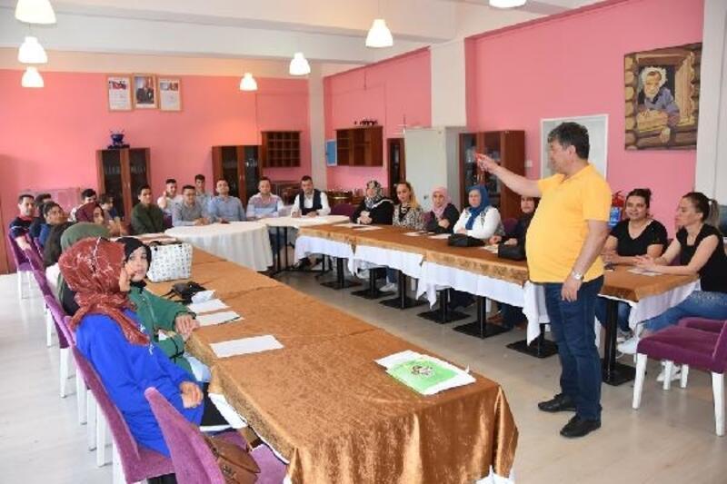 Kocasinan'da kafe personellerine eğitim