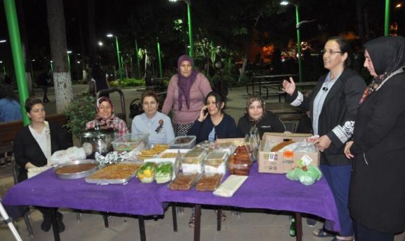 Kadınlardan, Suriye'de görevli askere sıcak yemek