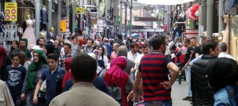 Bursa'da bayram alışverişi telaşı