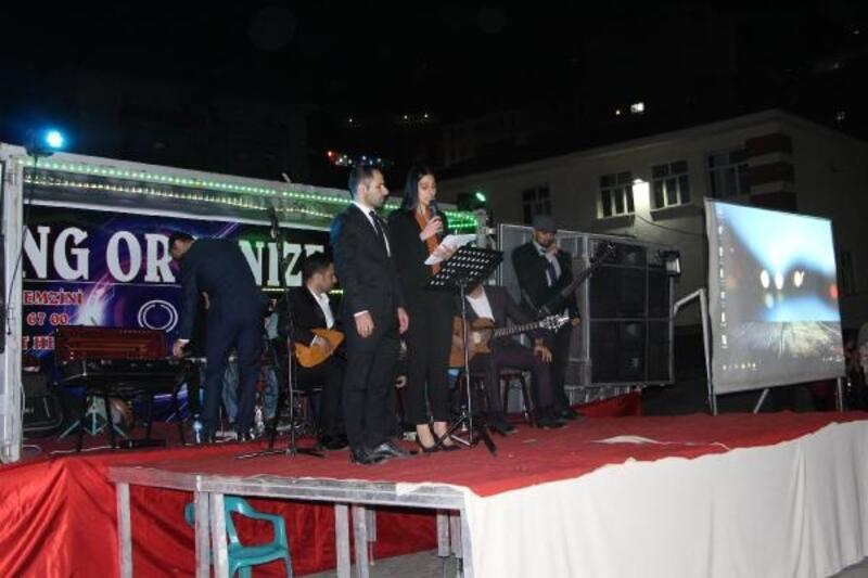Şemdinli'de, okullararası ses yarışması