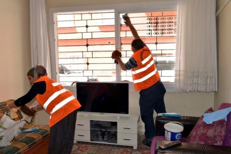 'Evde bakım ve temizlik hizmeti' yüz güldürüyor