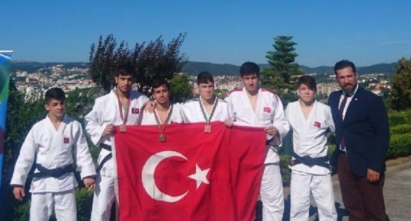 Ümitler Judo Avrupa Kupası'nda 1 altın 2 bronz madalya