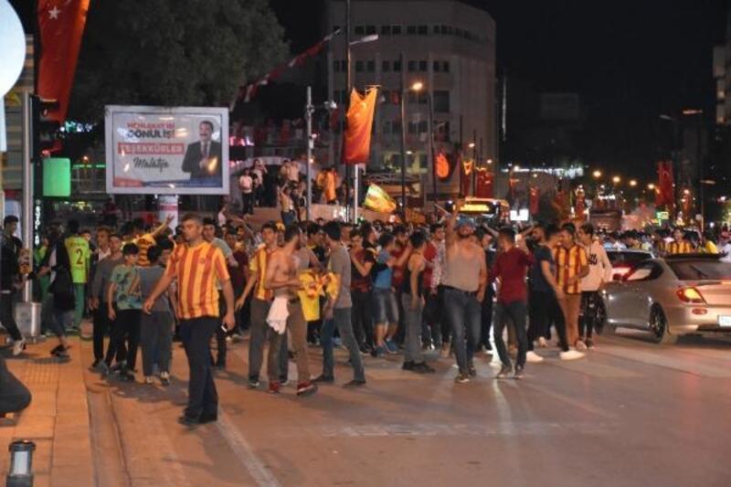 Malatya'da 17 yıl sonra UEFA Avrupa Ligi coşkusu