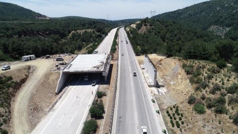 Ekolojik köprülerin yapımına başlandı